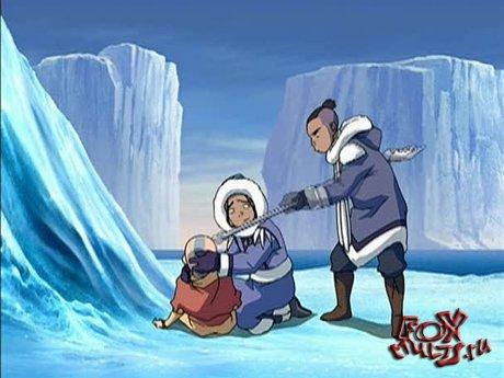 Мультик - Аватар: Легенда об Аанге: Книга 1 Глава 1  Мальчик из айсберга