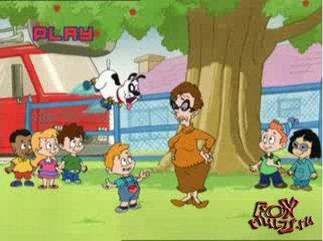 Мультфильм - Шкодливый пес: 3-2 Червивое яблоко/Башмаки шкодливого пса