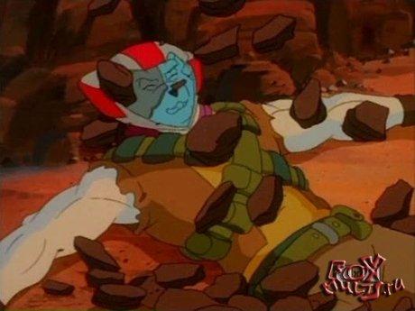 Мультик - Мыши-байкеры с Марса: 3-13 Однажды на Марсе часть3