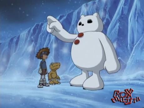 Дигимон: 9 - Сноумон-снежный дигимон