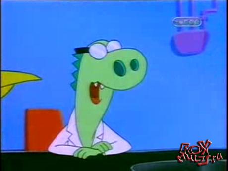 Мультфильм - Громозавры/Ик: Убийственная сила искусства.Супер кот