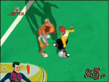 Мультфильм - Галактический футбол: 2-2 Перерыв