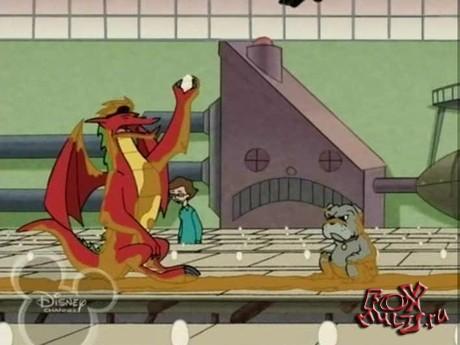 Американский дракон: 1-8 Яйцо Грифона. Грабеж