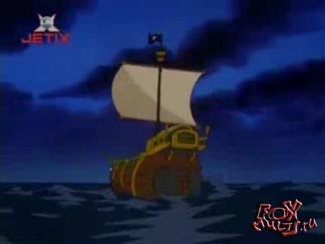 Мультфильм - Бешеный Джек-пират: 1-4 Привидение Энгиса Дагнаббита.Свет,камера,Снак!