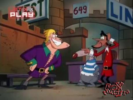 Мультфильм - Бешеный Джек-пират: 1-7-1 Сокровища безмозглого,замшелого,криворукого торгаша