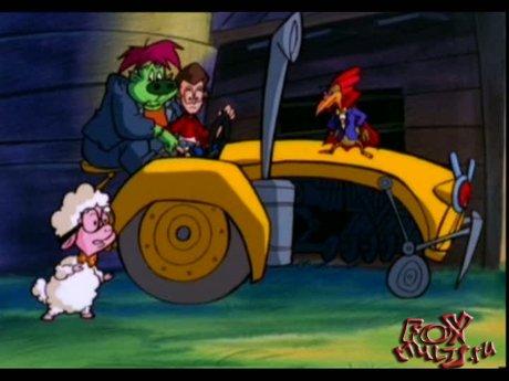 Мультик - Ферма чудища: 2 - Тракторный террор