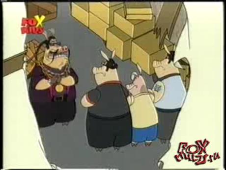 Мультфильм - Свин Сити: 2-13 Свиньи в Японии