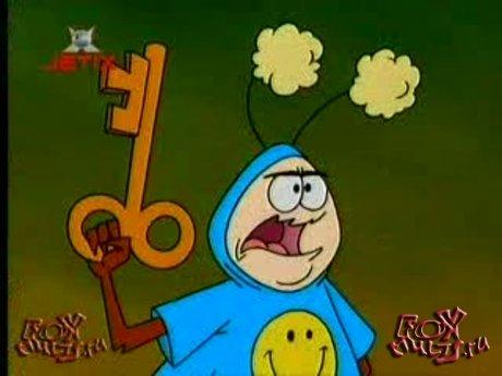 Мультсериал - Таракан-робот: 2-9 Волшебные боевые жуки. Там,где крест