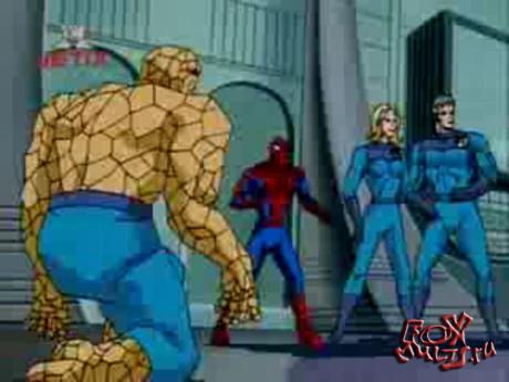Мультфильм - Человек-паук: 5-9 Прибытие