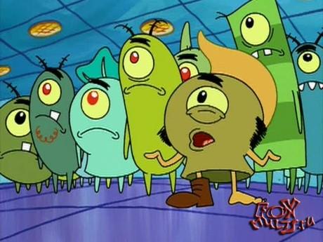 Губка Боб: 3-18-2 Армия Планктона
