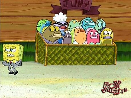 Губка Боб: 4-2-2 Крабс против Планктона