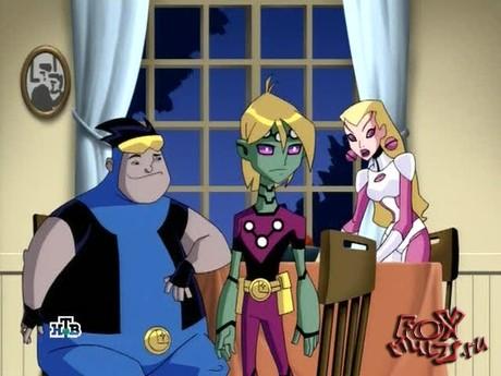 Мультик - Легион супергероев: 1-1 Герой из будущего