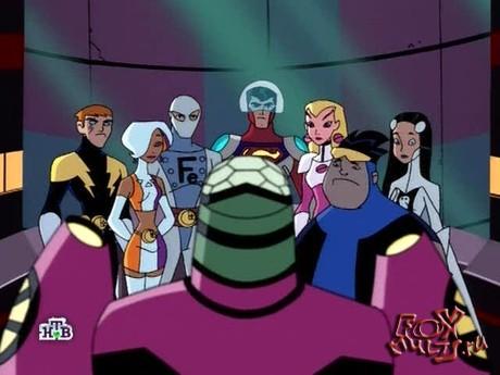 Мультик - Легион супергероев: 1-12 Когда заходит солнце часть1