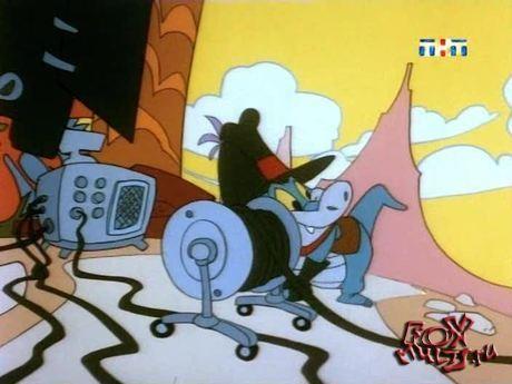 Тасманский дьявол: 12 - Мгновенный повтор. Тас и птеродактиль