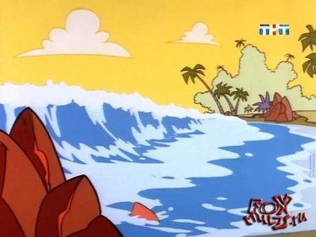 Тасманский дьявол: 6 - Битва с пустынными крысами. Дьявол и глубокое синее море