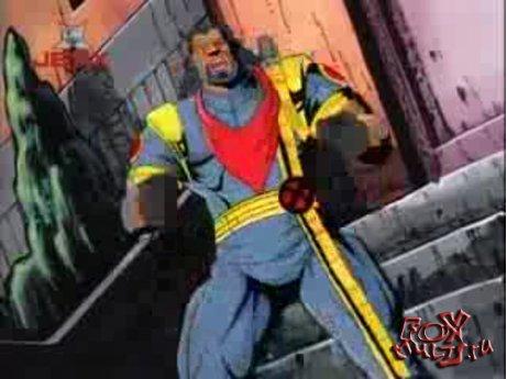 Мультфильм - Люди Икс: 2-7 Бегство во времени часть1